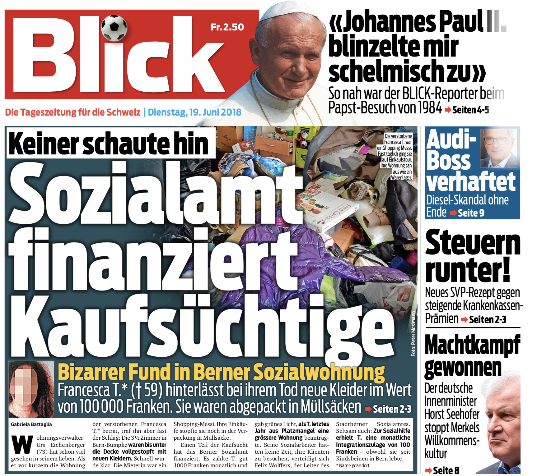 Blick News Blick All 2019 10 14